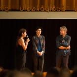 Luokkajuhla (2013) ohjaaja Anna Odell ja näyttelijä Sandra Andreis. Kuvaaja Marko Saari