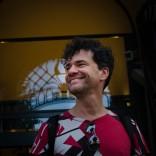Kriitikko ja ohjaaja Mark Cousins oli R&A'n ennakkovieraana 4.-6.9. / Critic and director Mark Cousins was HIFF's guest 4-6 September. Kuvaaja/photographer: Mari Laukkanen