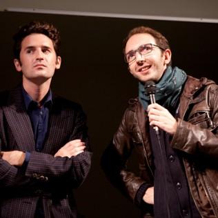 LET MY PEOPLE GO! esitettiin French Touch –sarjassa. Ohjaaja Mikael Buch ja päänäyttelijä Nicolas Maury. Kuva: Larisa Pelle