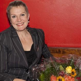 Tiina Weckström palkittiin Vuoden 2011 elokuvanäyttelijänä nimiroolistaan elokuvassa HELLA W. Kuva: Lea Hult