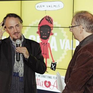 KHODORKOVSKY'n saksalainen ohjaaja Cyril Tuschi kertoi valmistelevansa uutta elokuvaansa Julian Assangesta. Kuva: Isma Valkama