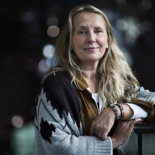 Syvyys-tuottaja Agnes Johansen. Kuva: Sami Heiskanen