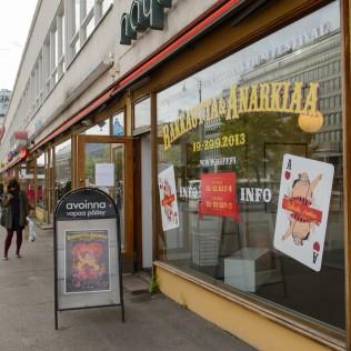 R&A-info sijaitsee Mannerhiemintiellä Lasipalatsissa. Kuva: Ilkka Vuorinen
