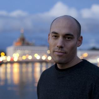 The Act of Killing -ohjaaja Joshua Oppenheimer. Kuva: Pirita Särmä