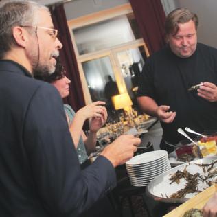 Mussels in Love -leffaillallinen. Kuva: Mikko Kananoja